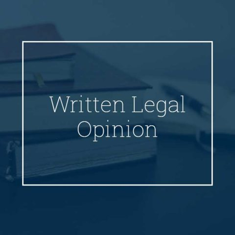 Written Legal Opinion