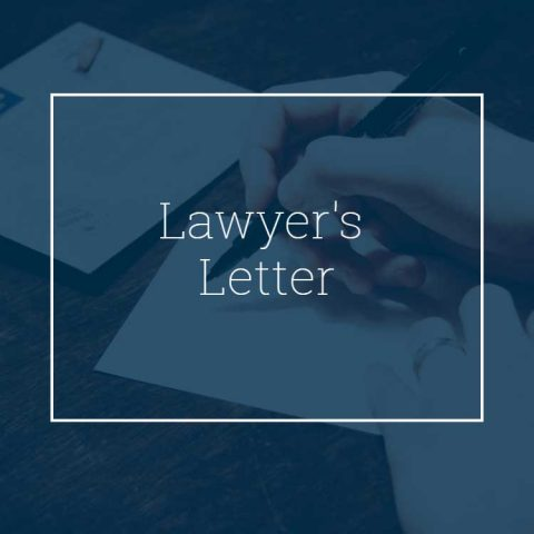 Lawyer's Letter