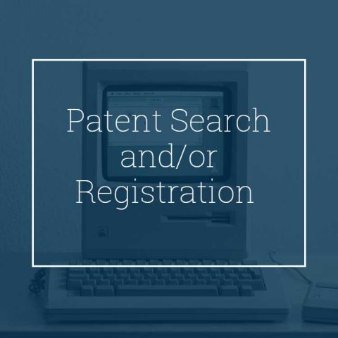 Patent Search and/or Registration