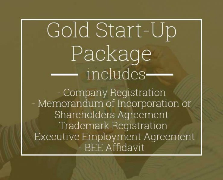 Gold Start-Up Legal Package