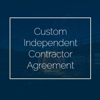 Custom Independent Contractor Agreement copy