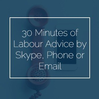 30 Minutes Labour Advice by Skype, Phone or Email