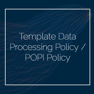 Template Data Processing Policy