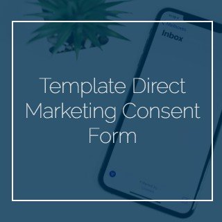 Template Direct Marketing Consent Form