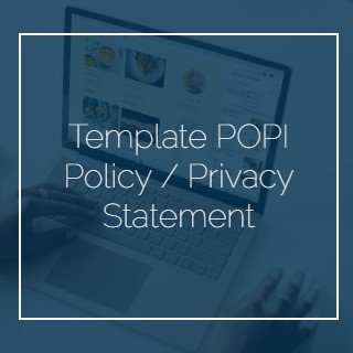 Template POPI Policy - Privacy Statement